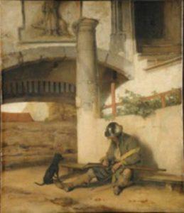1 vor der Restaurierung, Torwache, Carel Fabritius