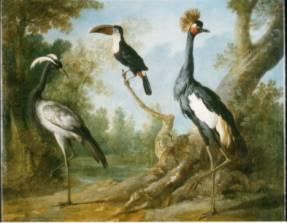 1 nach der Restaurierung , Jean-Baptiste Oudry, Pfefferfresser